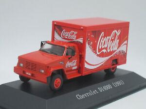 Chevrolet D14000 Coca-Cola 1991 Modellino Camion Truck 1/72