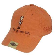 JEFF FOXWORTHY VINTAGE ORANGE REDNECK HAT CAP MY ID