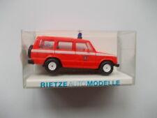 Rietze:Vrw Brandweer Barnefeld Feuerwehr Nr.50350 Mitsubishi Pajero (GK50)