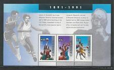 CANADA # 1344 MNH BASKETBALL, SPORTS, Souvenir Sheet