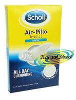 Scholl Air Pillo Comfort Shoe Insoles Cut to Foot Size