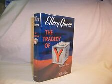 Ellery Queen THE TRAGEDY OF Y First edition thus 1941 Nice HC---FREE SHIPPING