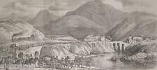 1859:Passaggio Armata Francese ad ISOLA Del CANTONE GE.