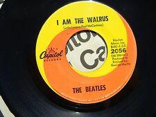 THE BEATLES ♫ I AM THE WALRUS / HELLO GOODBYE ♫ 1967 EX+ F1/F3 STUNNING 2056