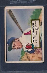 1952 Topps #097 Earl Torgeson Braves VG 52T97-81816-2