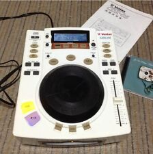 Used! Vestax CDX-05 Professional CD Player Rare Color White