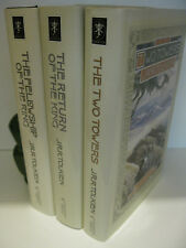 THE LORD OF THE RINGS J.R.R. Tolkien 1993 BCE Houghton Lot of 3 Volumes Fine
