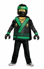 Lloyd LEGO Ninjago Movie Classic Costume, Green, Large (10-12)