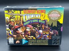 Donkey Kong Country 2 Players Choice  SNES  NEW & SEALED H-SEAM
