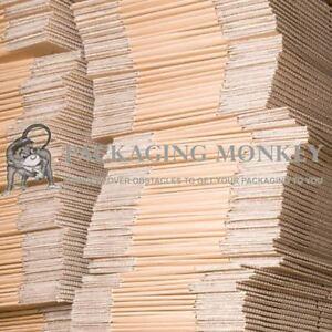 "10 x A3 Size Shallow Depth 18x12x3"" Cardboard Mailing Postal Boxes 18""x12""x3"""