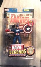 Marvel Legends Series 1 Captain America Action Figure With 32 Page Comic Book