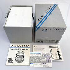 Scatola - BOX for Hasselblad Distagon 50 CF FLE