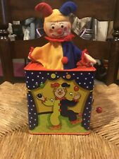 Schylling Classic Musical Jack in the Box Toy
