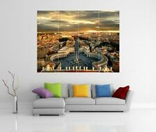 THE VATICAN ROME GIANT WALL ART PICTURE PRINT POSTER G77