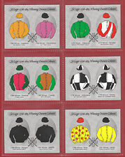 GDS CARDS - SET OF L 20 ST. LEGER  1776 - 1815  WINNING OWNERS COLOURS  -  2005