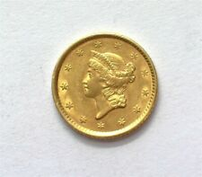 1852 LIBERTY HEAD GOLD DOLLAR NEAR CHOICE UNCIRCULATED