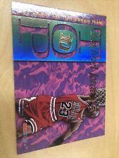 Michael Jordan 1995-96 NBA Hoops Top Ten 10 Insert # AR7 Chicago Bulls Skybox