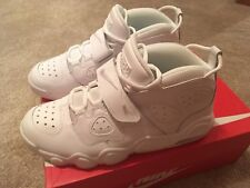 official photos 20fb7 88a4f Mens Size 10 Nike Air CB 34 Charles Barkley DS Triple White Strap 316940-100