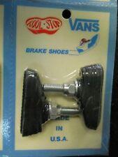 NOS Deadstock Vans Kool Stop BMX Brake Shoes Black Mint In Sealed Package