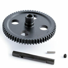 RC 0015 Black Metal Center Reduction Gear 62T Fit WLtoys 1/12 4WD 12428 12423