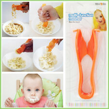 Popular Baby Food Masher Multi Function Plastic Press Mash Cutter BPA PVC Free