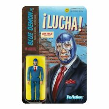 Legends of Lucha Libre Blue Demon Jr in Suit Action Figure Luchador Mexican Wres