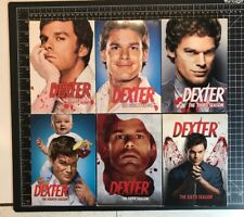 Dexter Show DVD Lot Seasons 1-6 Pre Owned