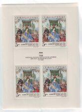 Czechoslovakia Sc 1555 NH Minisheet of 1968 - Expo - Art