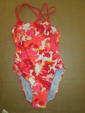 Womens NIKE competition swim bathing suit swimsuit sz 34
