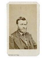 BERTALL & Cie - CDV - General Grant c.1865, photo , vintage