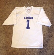 L(12-14) Or XL(16-18)....U Choose size...Lions Football Dress Up Costume Jersey