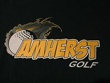Golf Team HIGH SCHOOL AMHERST Ohio T Shirt NWOT Green FREE Shipping size Medium