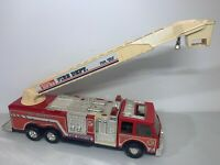 "Large Vintage Tonk Fire Truck Engine No 5 Rescue Boom Ladder Firetruck 27"" 1993"