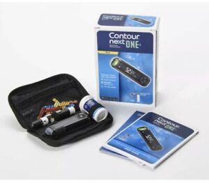 Bayer Contour Next ONE Glucose Monitoring System Wireless Meter And 10 Test Strp