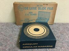 Logan DeLuxe Slide File No 110-Holds 300 IOB & Another