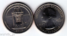 USA 25 cents 2010 HOT SPRINGS P UNC