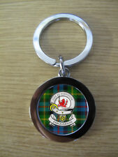FARQUARSON CLAN KEY RING (METAL) IMAGE DISTORTED TO PREVENT INTERNET THEFT