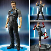 New Super Hero Avengers Tony Stark Iron Man 3 Action Status Figure In Box 15cm