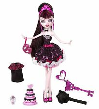 Monster High Sweet 1600 Draculaura Doll, New, Free Shipping