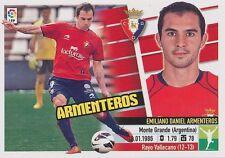 N°14 DANIEL ARMENTEROS # ARGENTINA CA.OSASUNA STICKER PANINI ESTE LIGA 2014