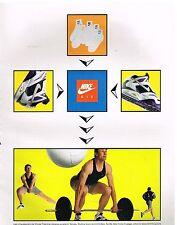 Publicité Advertising 1991 Les Baskets et vetements Nike Air