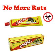 2 x Pest Control Non Poisonous Rat's Mice Mouse Buster Glue 135g Get Rid of Rats