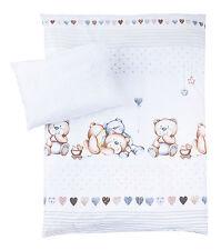 Zöllner Baby Kinder Bettwäsche Schmusebär 100x135 / 40x60 cm