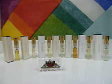 LOT OF 7 AMOUAGE LIBRARY COLLECTION SAMPLES 2 ML OPUS IV, OPUS V, OPUS VI, ETC.
