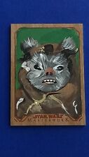 2016 Star Wars Masterwork Wood - Sketch by Jason Brower /10