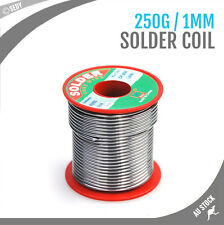 Solder Wire Spool 250g 60/40 Core Soldering Coil Plumbing Electronic Repair Iron