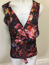 SZ 12 KAREN MILLEN TOP   *BUY FIVE OR MORE ITEMS GET FREE POST