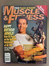 MUSCLE & FITNESS bodybuilding magazine / ARNOLD SCHWARZENEGGER / 07-97