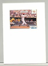 Dominica 1992 Barcelona Olympics, Baseball 1v S/S Imperf Proof Unissued Design