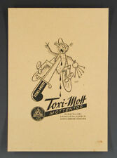 Werbeblatt Toxi-Mott MOTTENTOD um 1935